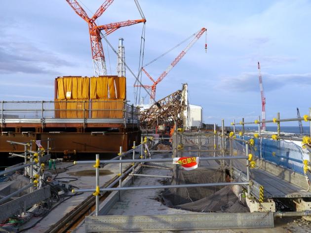 April 29 2013 - IAEA - Fukushima Crane