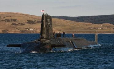 Trident Nuclear Submarine HMS Victorious. Photo Credit: Defence Images