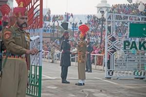 Indian-Pakistan Border. Photo Credit: Koshy Koshy