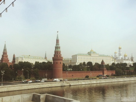 The Kremlin. Photo Credit: Anna Dashkova